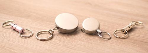 Schlüsselanhänger mit Kupplung & Gürtelclips