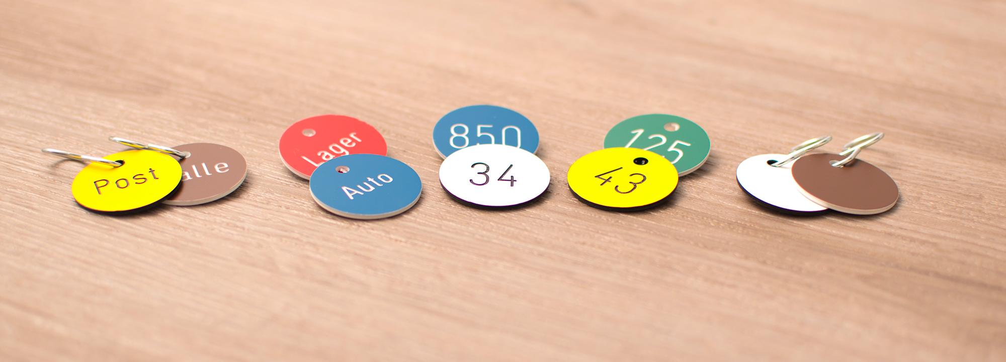 Zahlen- und Textmarken