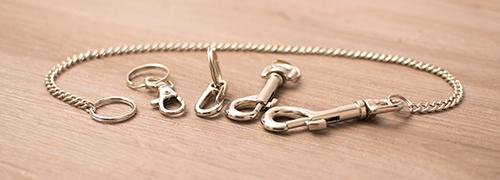 Karabinerhaken & Schlüsselketten