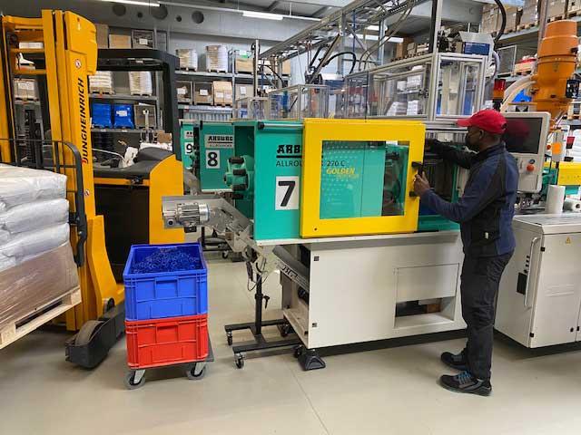 Produktionsmitarbeiter mit Staplerschein (m/w/d)